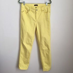 •NYDJ• Alisha Fitted Ankle High Waist Jeans